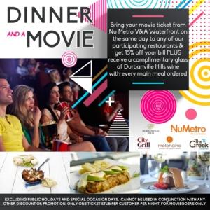 Movie Ticket Restaurants